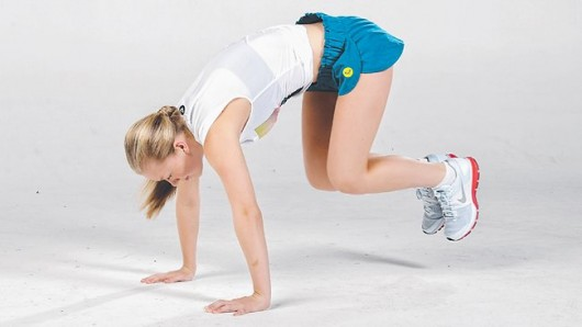 Lateral Bound Burpee