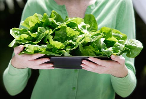 folic-acid-in-leafy vegetables