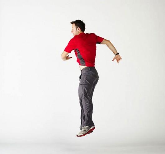 # 9 Exercice minceur de taille: Twists de ski