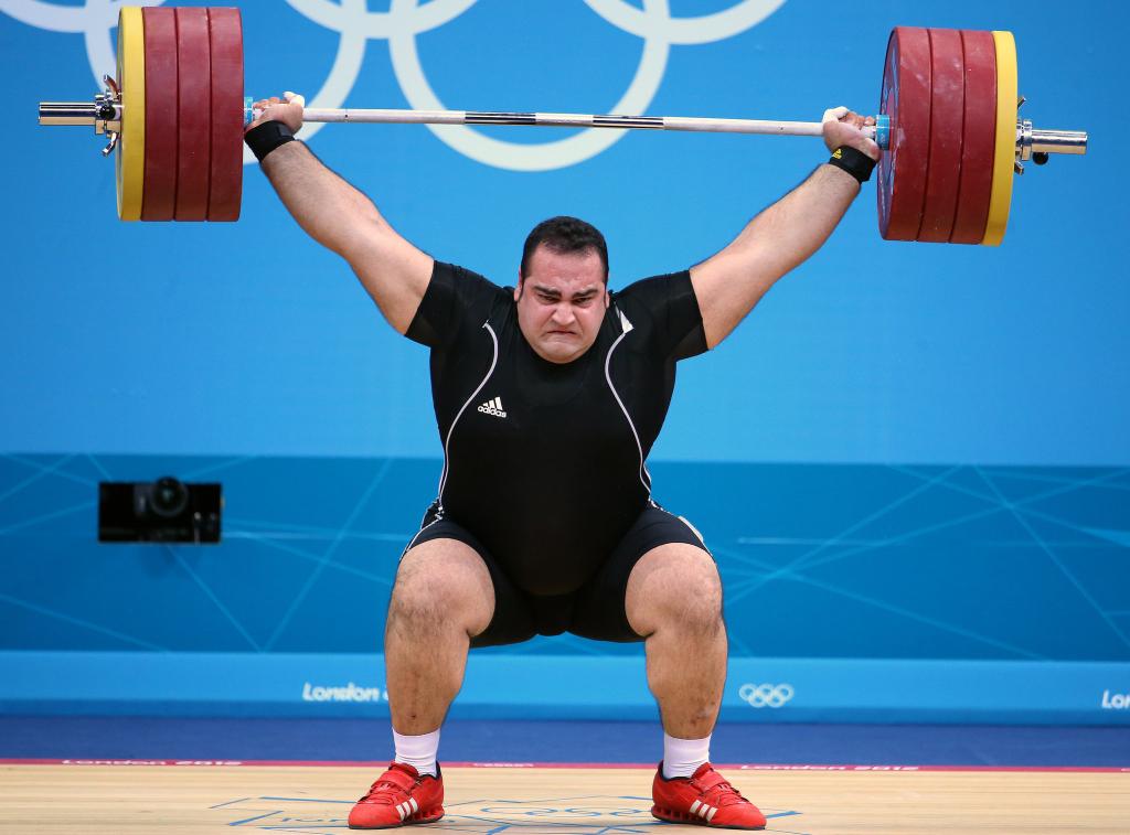 Big fat weightlifter - not attractive