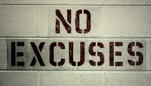 Five Bogus Excuses That Really Just Prove You Are Lazy