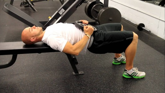 Shoulder Elevated Hip Thrust