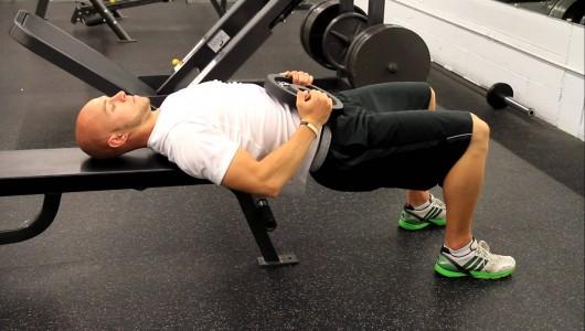 Shoulder Elevated Hip Thrust