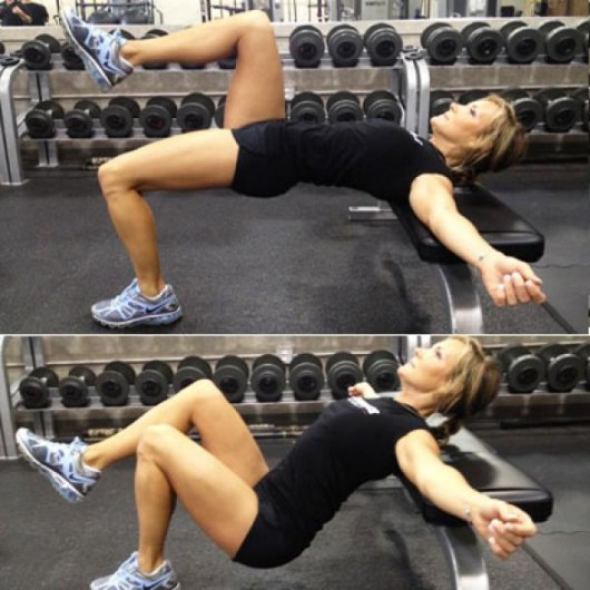 Unilateral Hip Thrust