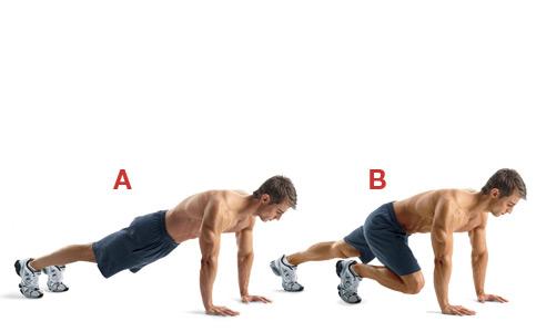 Exercice d'alpinisme
