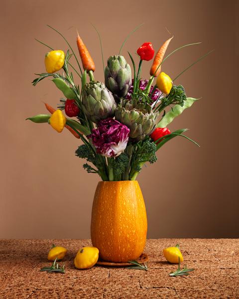 Vegetable-Food-Vase