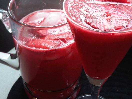 Straeberry Citrus juice