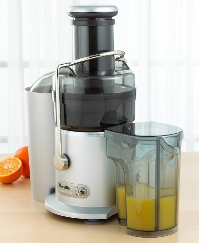 Breville JE98XL Juice Fountain Plus 850-Watt Juicing Machine
