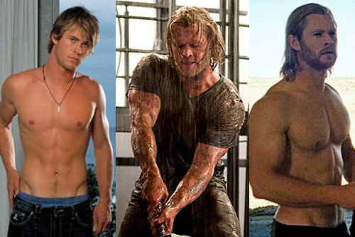 Chris Hemsworth Superhero Body