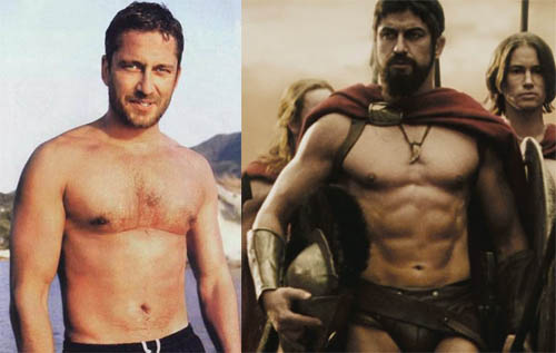 Gerard Butler Superhero Body