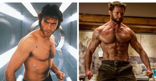 Hugh Jackman SuperHero Body