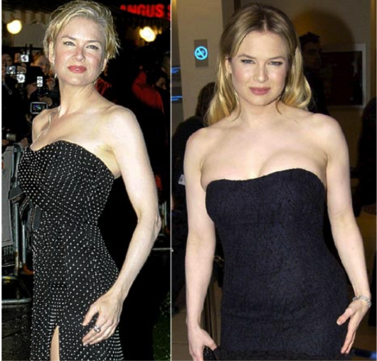 4 crazy celebrity transformations extreme weight gain top renee zellweger weight gain ccuart Gallery