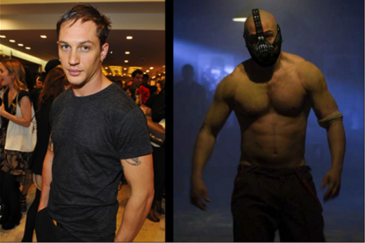 Tom Hardy Superhero Body
