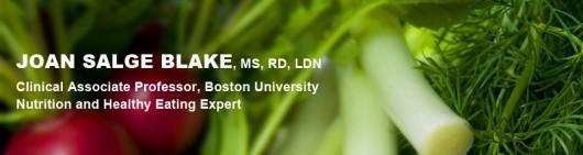 Joan Salge Blake Nutrition Blog