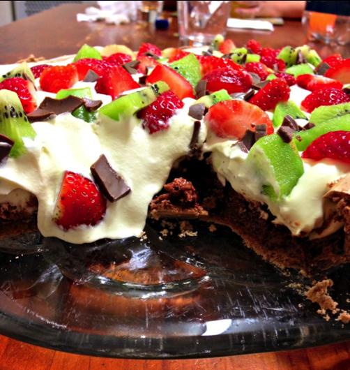 Protein Chocolate Pavlova