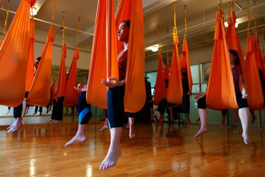 Anti-Gravity Yoga Workout
