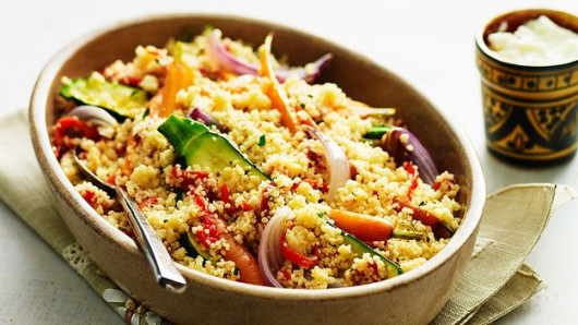 Couscous with Veges