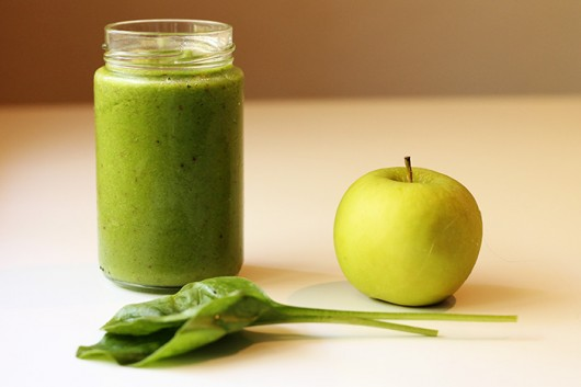 Kale and Spinach Smoothie