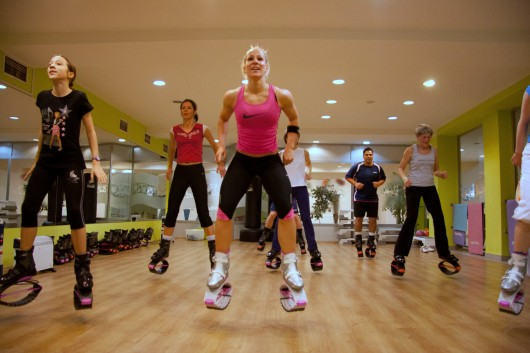 Kangoo Jumps Workout