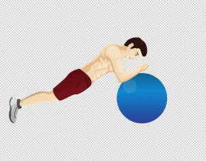 Swissball Plank