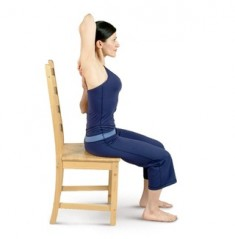 Arm Stretching Behind the Back