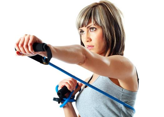 Complete Arms Slimming Resistance Band Workout