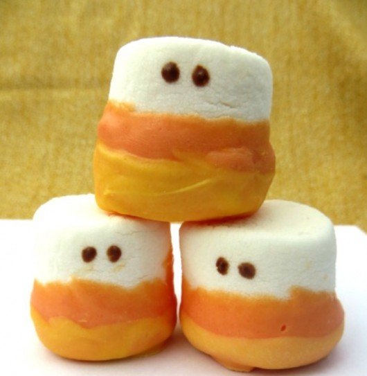 Candy Corn Marshmallows
