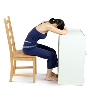 Chair Forward Bend