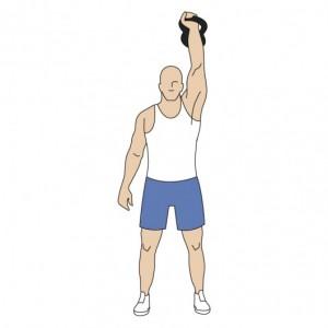 One Arm Kettlebell Snatch