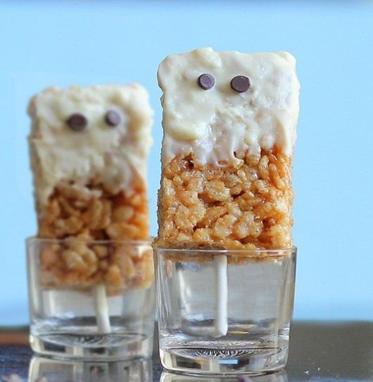 Peanut Butter Rice Krispy Treats