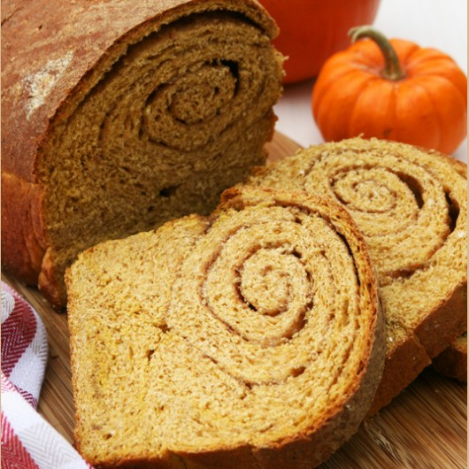 Whole-Wheat Pumpkin Banana Bread