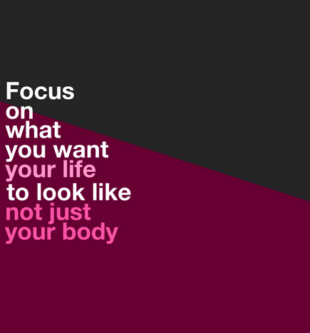 Focus On What You Want Your Life To Look Like