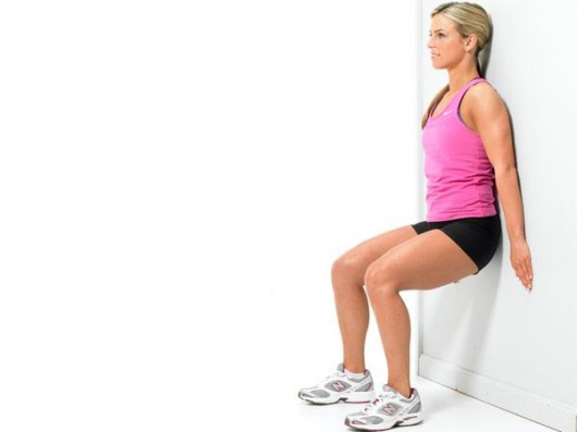 Bodyweight Wall Squat