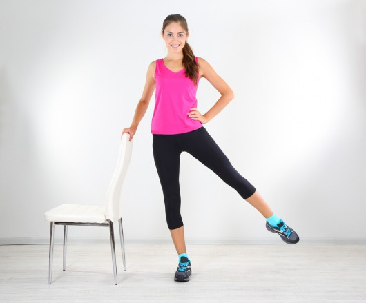 Get Fit Where You Sit with this 10-Minute Chair Workout