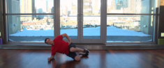 Modified Side Plank Tucks