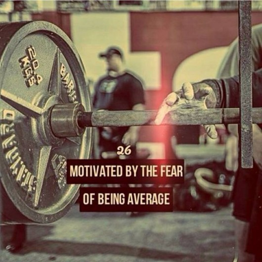 Motivated By The Fear