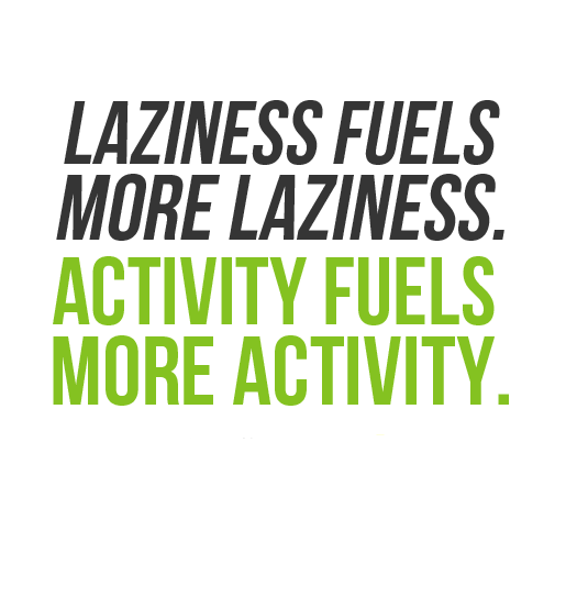 Activity Fuels More Activity