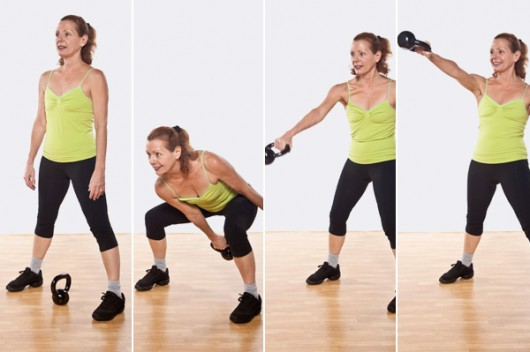 Alternating Single-Arm Kettlebell Swing