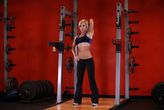 Dumbbell Standing One Arm Triceps Extension