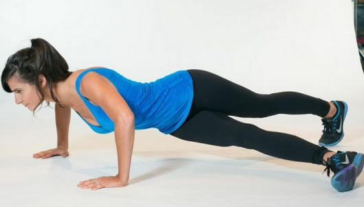 Hip Twist Push-Up