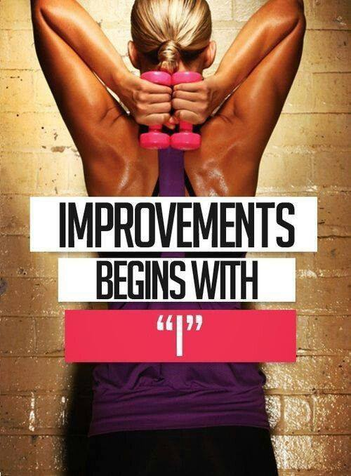 Improvements Begins with I