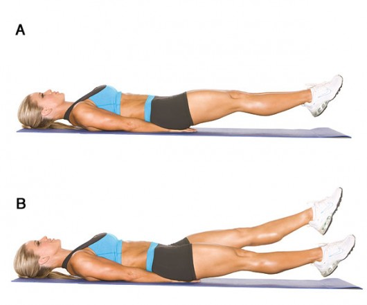 Exercises for love handles and thighs