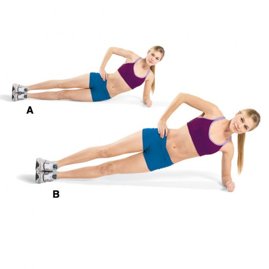 Lying to Side Plank