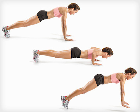 Plyo Push ups is a great exercise to develop upper-body power.