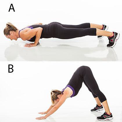 Push-Up Pike Press