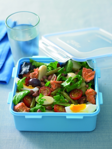 Salmon Lunch Box Salad