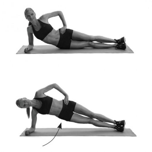 Side Oblique Workout Love Handles