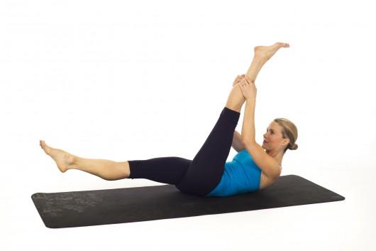 Single-Leg Straight-Leg Stretch