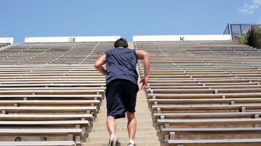 Stadium Steps Running