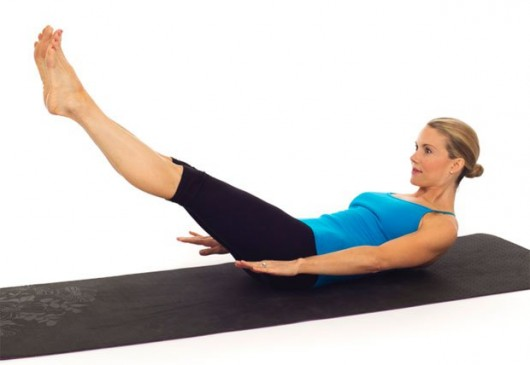 The Hundreds Pilates Exercise